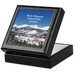 Rocky Mountain National Park Keepsake Box