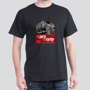I Love Lucy: You're The Lucy To My Ri Dark T-Shirt