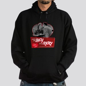 I Love Lucy: You're The Lucy To My R Hoodie (dark)