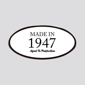 Made In 1947 Patch