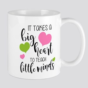 Big Heart Teacher Mugs