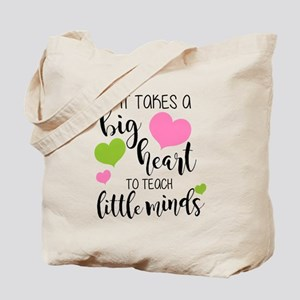Big Heart Teacher Tote Bag