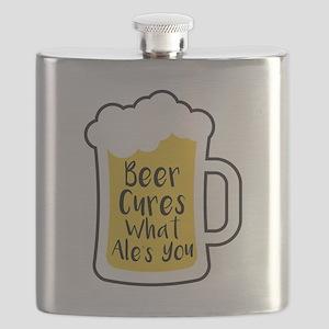 Beer Cures Flask