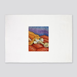 Pup Dreams 5'x7'Area Rug
