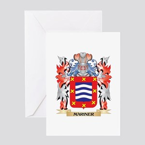 Mariner Coat of Arms - Family Crest Greeting Cards