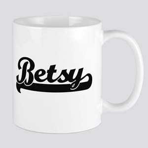 Betsy Classic Retro Name Design Mugs