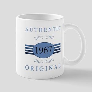 Authentic 1967 Birthday Mugs