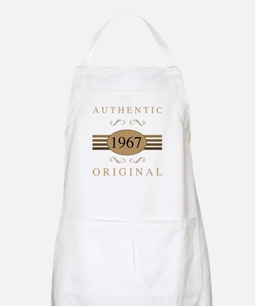 Authentic 1967 Birthday Apron