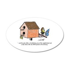 Flippin' The Birdhouse Wall Decal