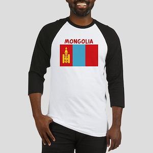 MONGOLIA Baseball Jersey