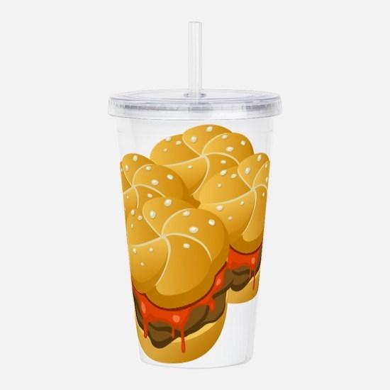 BBQ Sandwiches Acrylic Double-wall Tumbler