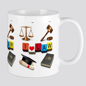I Love Law Mugs