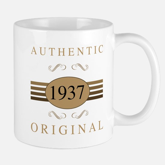 Authentic 1937 Birthday Mugs
