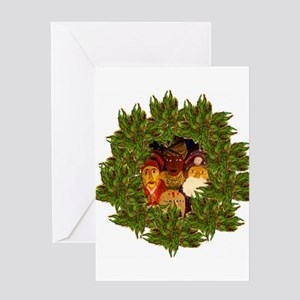 Los Reyes Christmas Cards (Pk of 10) Greeting Card