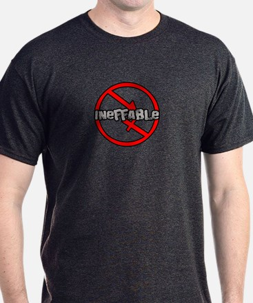 Asexual;  Ineffable T-Shirt