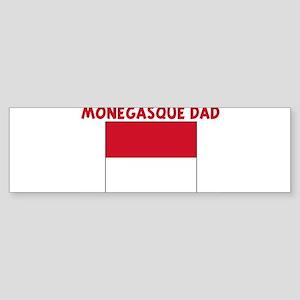 MONEGASQUE DAD Bumper Sticker