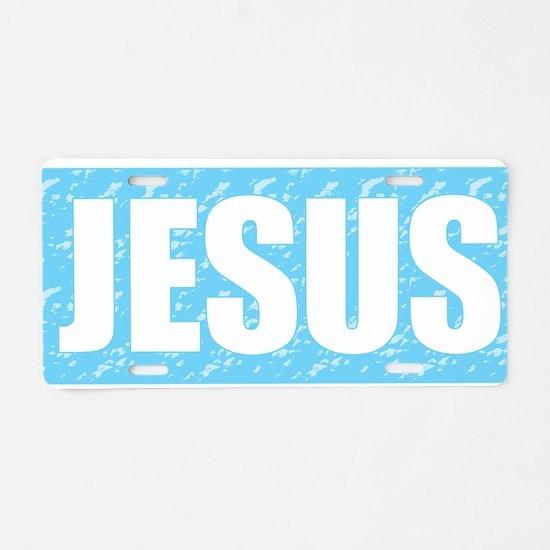 Jesus is My Savior Aluminum License Plate