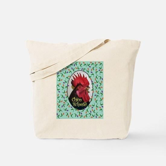 Cute Fighting rooster Tote Bag