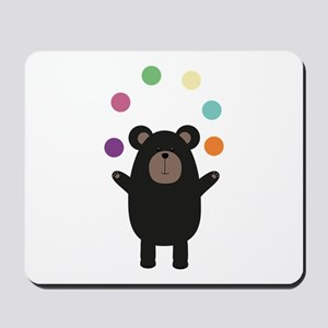 Black Bear juggling Mousepad