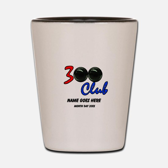 Personalized 300 Perfect Game Bowling/B Shot Glass