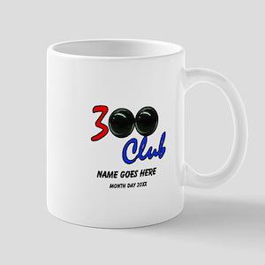 Personalized 300 Perfect Game Bowling/B Mug