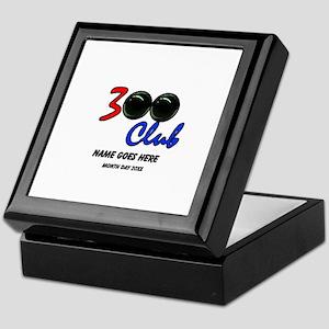 Personalized 300 Perfect Game Bowling Keepsake Box