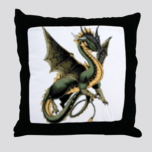 Great Dragon Throw Pillow