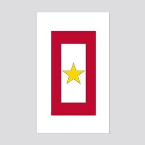 Gold Star Flag Sticker