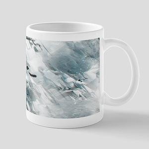 Rough White Diamond Pattern Mug
