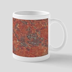 Red Granite Pattern (Light) Mug