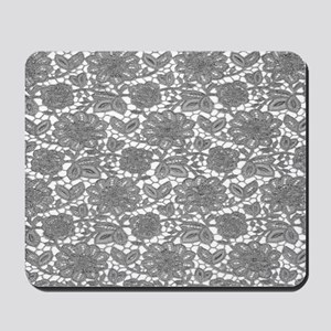 Elegant Lace Pattern Mousepad