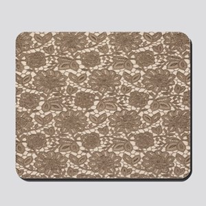 Old Lace Pattern Mousepad