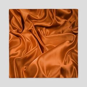Copper Satin Pattern Queen Duvet