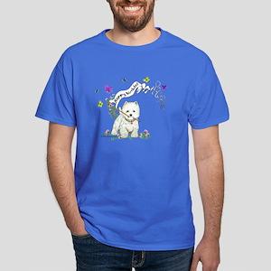 Birthday Dog Westie Terrier Dark T-Shirt