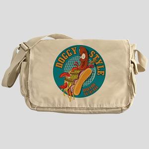 Doggy Style Hot Dog Messenger Bag