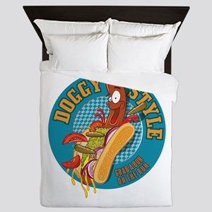Doggy Style Hot Dog Queen Duvet