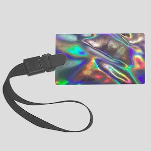 holographic Large Luggage Tag