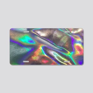 holographic Aluminum License Plate