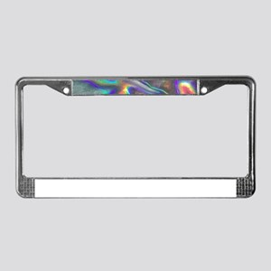 holographic License Plate Frame