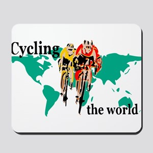 Cycling the World Mousepad