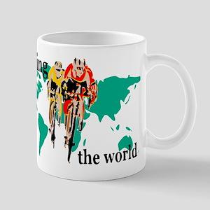 Cycling the World Mugs