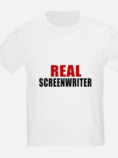 Real Screenwriter T-Shirt