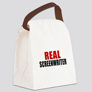 Real Screenwriter Canvas Lunch Bag