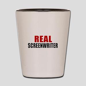 Real Screenwriter Shot Glass