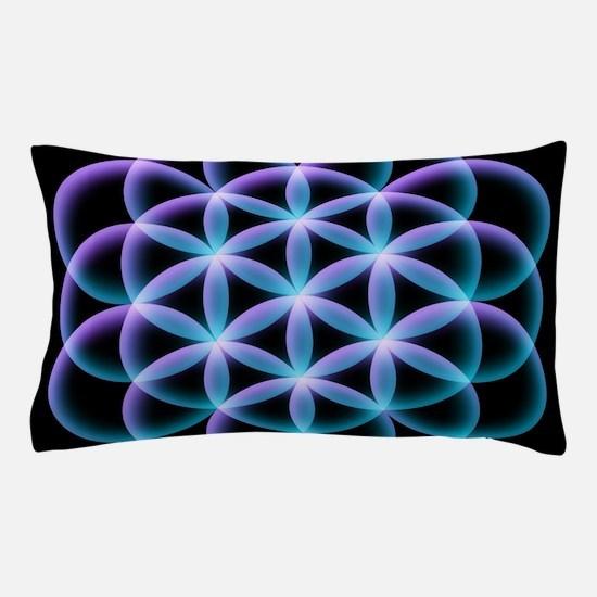 Flower of Life Mandala Pillow Case