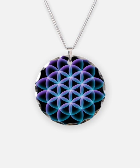 Flower of Life Mandala Necklace