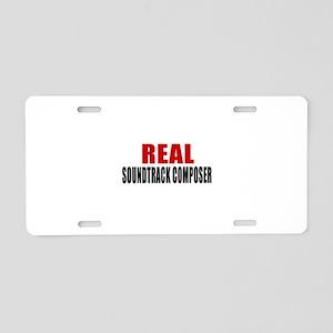 Real Soundtrack composer Aluminum License Plate