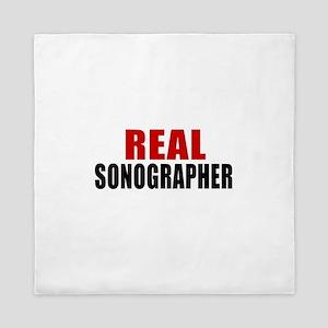 Real Sonographer Queen Duvet