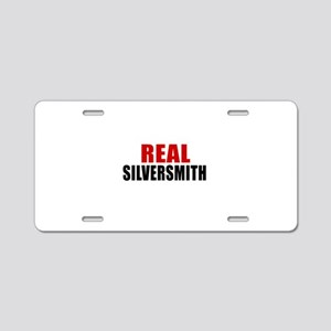 Real Silversmith Aluminum License Plate