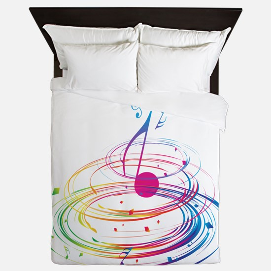 Cute Colorful Queen Duvet